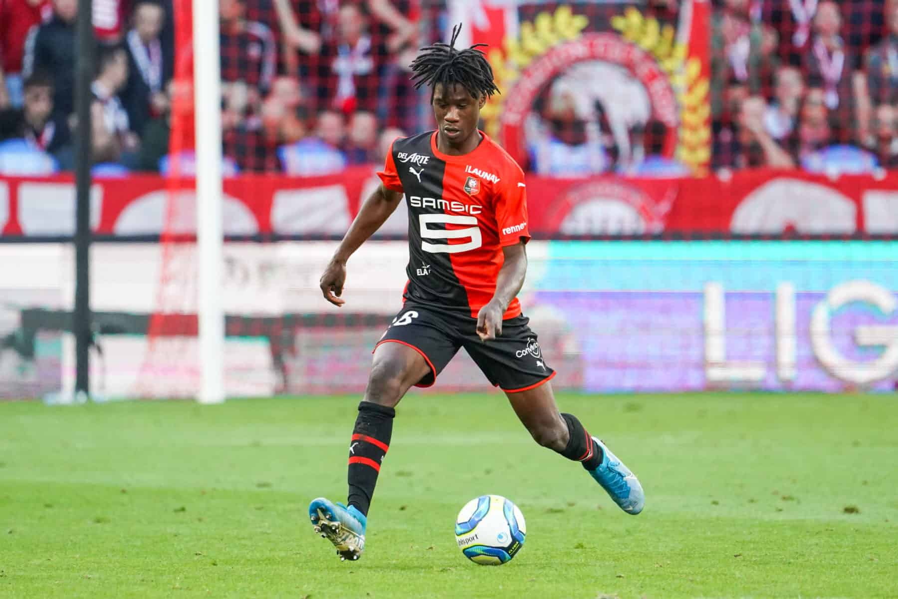 Marseillaise pour Camavinga, mais c'est Niang qui fait le buzz — Rennes