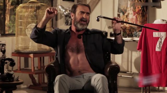 WTF : Le jour où Cantona a mis un coup de tête à un coéquipier