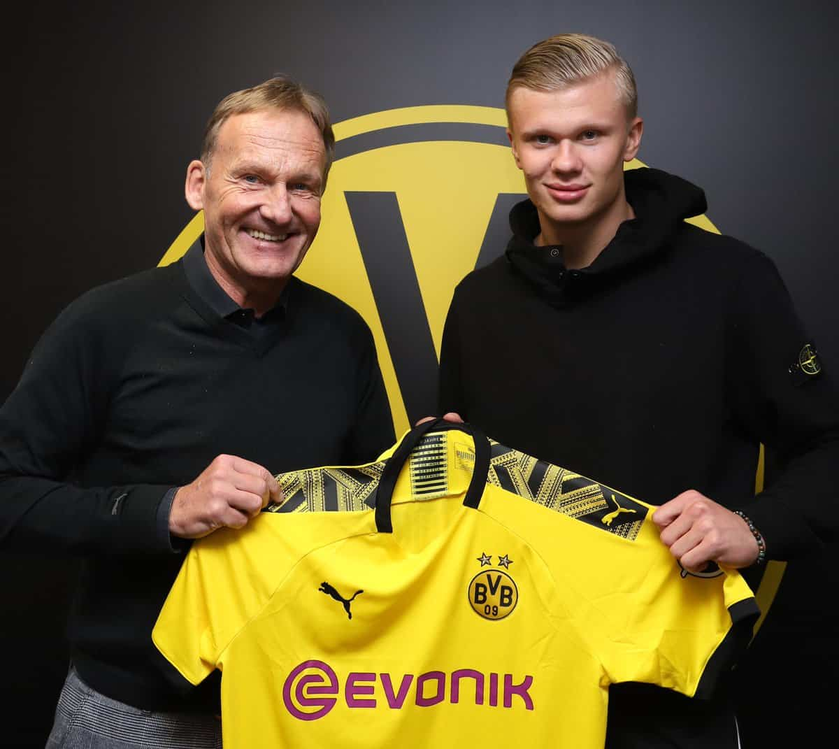 Dortmund enregistre l'arrivée d'Erling Braut Haaland — Allemagne